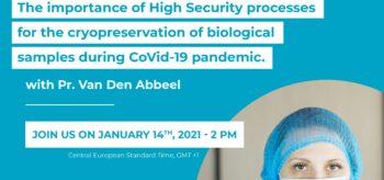 WEBINAIRE : Les procédures Haute Sécurité pendant la pandémie CoVid-19